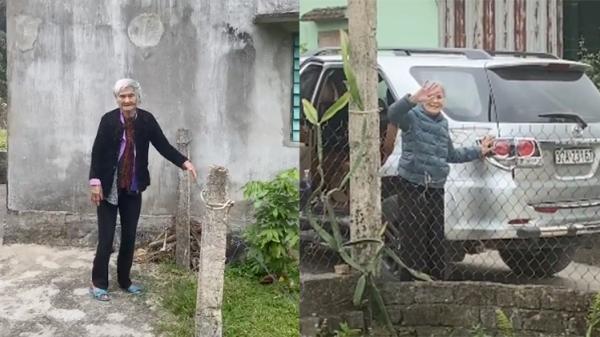 Mẹ già 103 tuổi ra tiễn con gái 80 tuổi, nghẹn ngào nói: 'Lần này nữa thôi, lần sau về không còn mẹ'