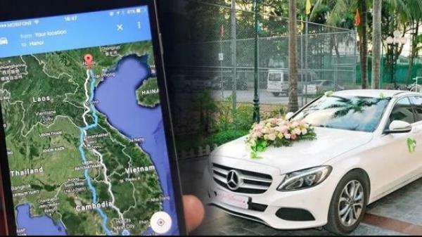 """Chú rể đi theo Google Maps, đám cưới suýt biến thành """"lên nhầm kiệu hoa"""""""