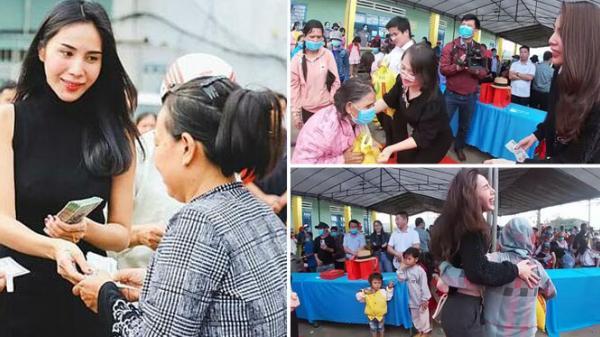 Vừa nhận giải thưởng tại WeChoice Awards 2020, Thủy Tiên cầm 220 triệu lên phát tại vùng cao