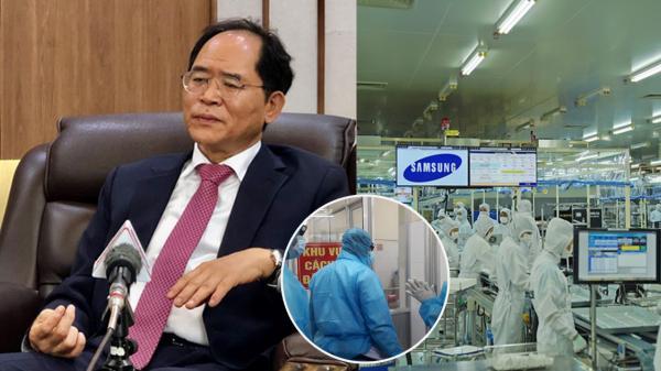 Đại sứ Hàn Quốc: 'mong Việt Nam không cách ly 1.000 kỹ sư của Samsung vì sẽ khiến doanh nghiệp này thiệt hại đến 10 tỷ USD'