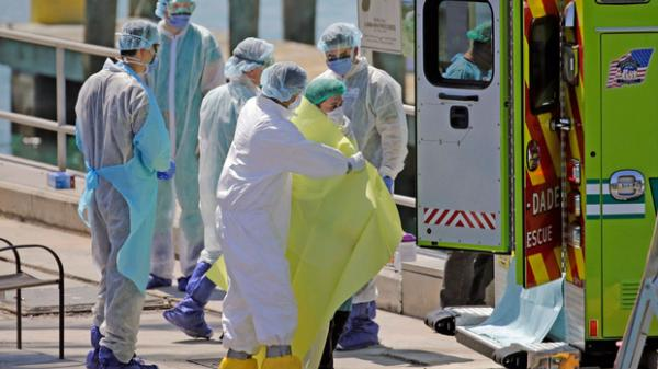 Mỹ có số người nhiễm Covid-19 vượt Trung Quốc, trở thành ổ dịch lớn nhất thế giới