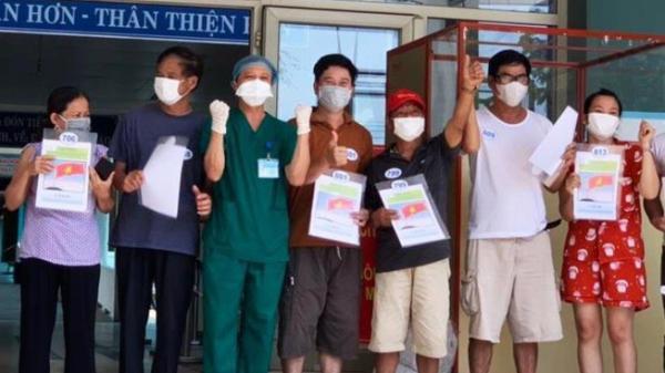 Đà Nẵng: Thêm 10 bệnh nhân COVID-19 khỏi bệnh và xuất viện
