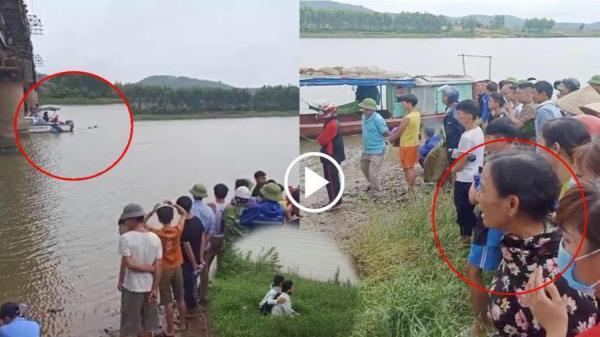 Tài xế xe tải dũng cảm l.a.0 xuống sông cứu cô gái trẻ bất thành, cả hai bị nước cu.ốn m.ất t.ích
