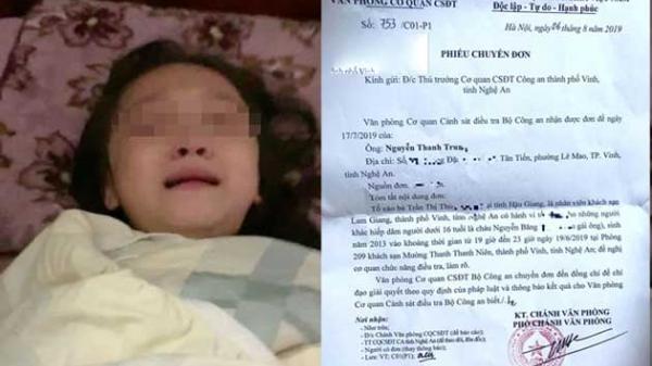 Xôn xao kết quả pháp y khác hẳn đơn tố cáo của bé gái 6 tuổi nghi bị c.ưỡng h.iếp tập thể