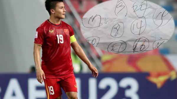 Lộ tờ giấy khiến U23 Việt Nam loạn nhịp thất bại thảm hại trước U23 Triều Tiên