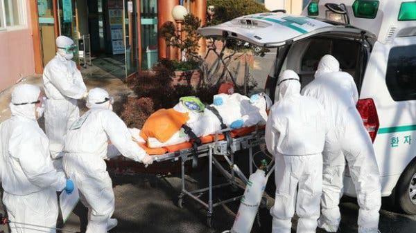 Hàn Quốc trở thành ổ dịch virus corona lớn thứ 2 thế giới: 8 người .ch.ế.t, 833 trường hợp nhiễm bệnh
