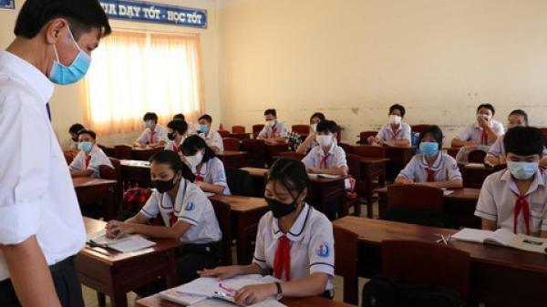 Học sinh đi học trở lại phải làm bao nhiêu bài kiểm tra?