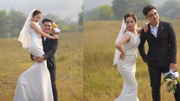 FA mãi mới lấy được chồng, thiếu nữ cười phớ lớ khi chụp ảnh cưới: Cuối cùng cũng lừa được người ta rồi!