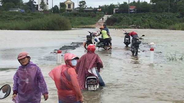 72 huyện miền Trung nguy cơ ngập lụt, dự kiến sơ tán hơn 290.000 dân