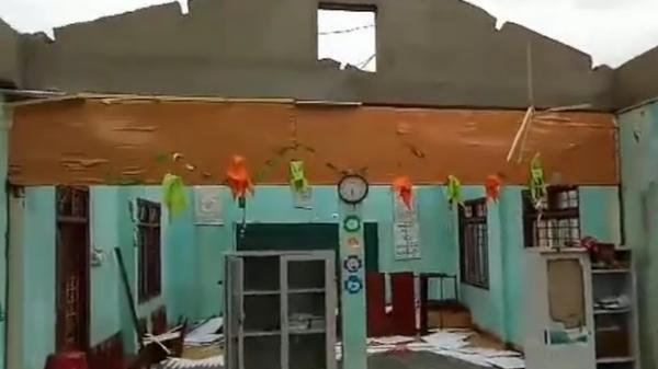 Hàng trăm căn nhà ở Quảng Ngãi h.ư h.ỏng do bão số 5