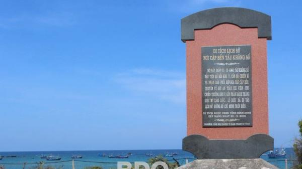 Bình Định: Khánh thành Di tích Bến tàu không số Lộ Diêu
