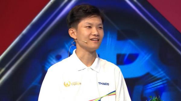 Nam sinh Đắk Lắk lập kỉ lục giải chướng ngại vật Olympia
