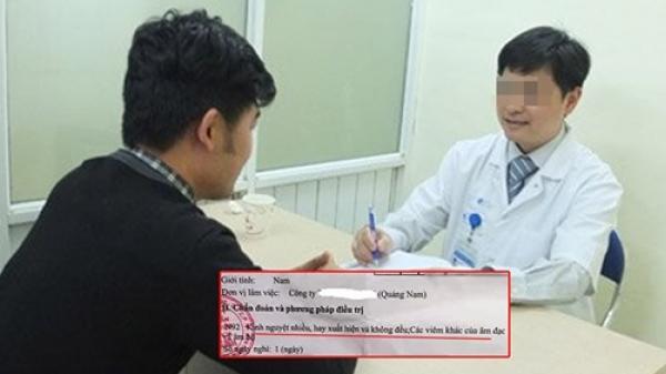 """Nam thanh niên """"á khẩu"""" vì bệnh viện chẩn đoán """"k..i.n.h n.g.u.y.ệ.t không đều"""""""