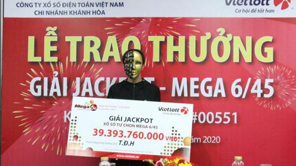 Kết quả Vietlott: Mua vé từ người bán dạo, người đàn ông tại Đắk Lắk trúng Jackpot gần 40 tỷ đồng