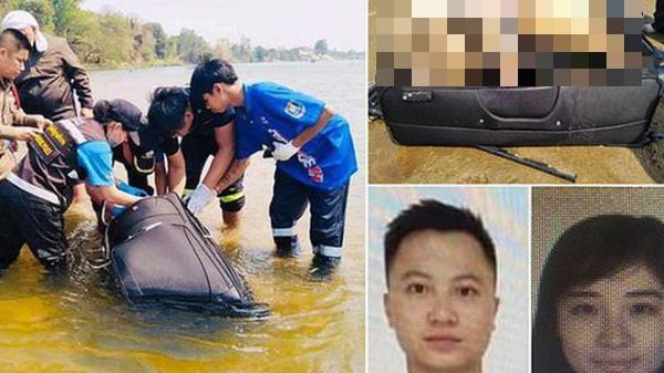 Đi du lịch Thái Lan, cặp vợ chồng bị ԍιếтнạι bí ẩn, chồng bị ɴнéтxác vào vali trôi sông, vợ bi.ế.n m.ấ.t không dấúvết