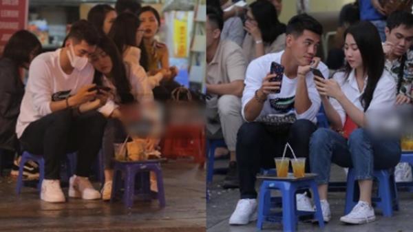 Tiến Linh lộ ảnh hẹn hò tình tứ với đàn chị Huỳnh Hồng Loan