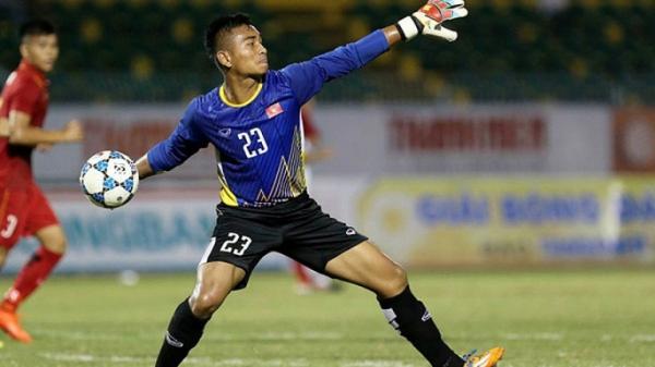 Thủ thành của U23 Việt Nam nhận án treo giò vì thi đấu thiếu tích cực