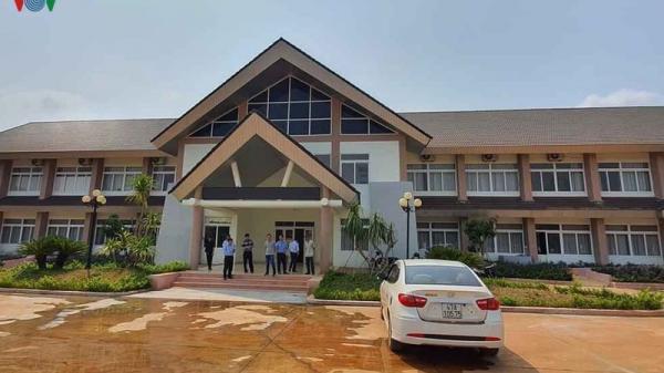 Khu cách ly tập trung cho cán bộ cấp tỉnh và đội ngũ y tế ở Đắk Lắk