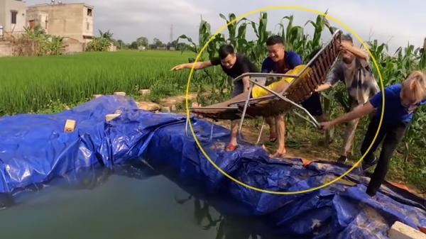 Con trai bà Tân Vlog và nhóm bạn tiếp tục bị tố 'diễn quá lố bịch' trong clip 'vứt em gái đang ngủ xuống hồ'