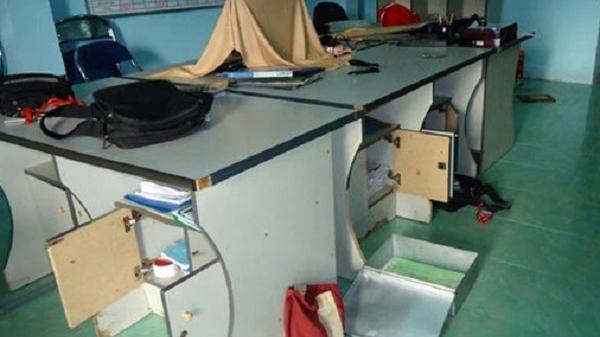 Bình Định: Trộm đột nhập công ty 'cuỗm' 300 triệu và 13 lượng vàng