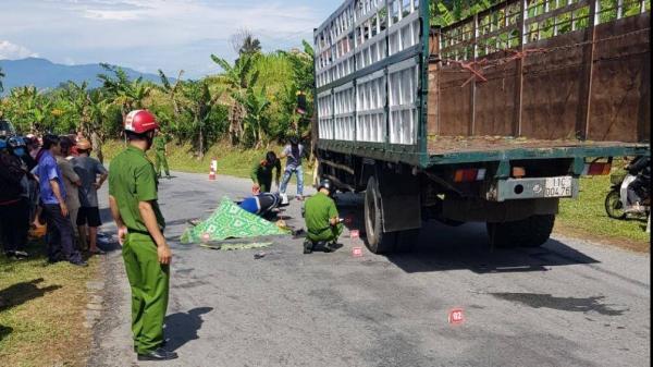 TNGT giữa xe tải và xe máy trên QL24B, 1 người tử vong tại chỗ