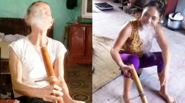 Ngôi làng phụ nữ thà nhịn đói chứ không nhịn thuốc lào bởi nếu không hút thì chỉ có FA cả đời