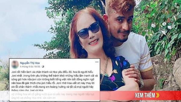 Cô dâu 65 tuổi lên tiếng sau tin bị chồng Tây bạo hành: Anh ấy đã xin lỗi, bát đĩa lúc nào chẳng bị va