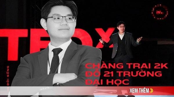 """Chàng trai 2K ở Quảng Ngãi đỗ 21 trường ĐH: """"18 tuổi, tớ là lãnh đạo của một tổ chức quốc tế!"""""""