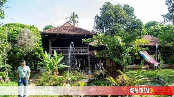 Ấn tượng ngôi nhà hơn 100 tuổi ở Kon Tum