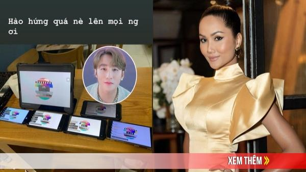 """Fan cứng chính hiệu của Sơn Tùng chính là H'Hen Niê: Hóng MV từng phút, lôi cả loạt máy để cày view cho """"sếp"""""""