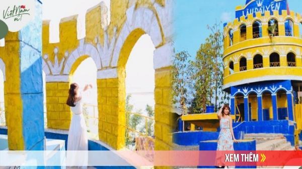 """""""Hóa nàng công chúa"""" tại Lâu Đài Yến đẹp như tranh vẽ tại Đắk Lắk"""
