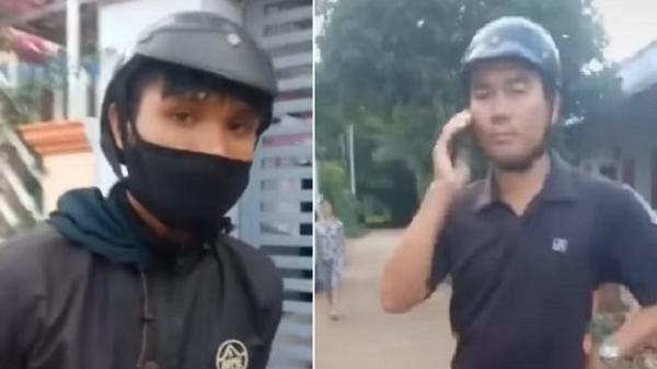 Xôn xao clip 2 người đàn ông bịt mặt, mặc thường phục đòi xử lý phương tiện vi phạm mang BKS Đắk Lắk