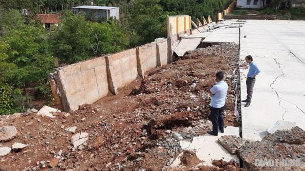 Công trình tiền tỷ ở Đắk Nông bị sập do... thiên tai
