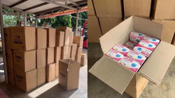 Đắk Lắk: Tạm giữ 2.500 hộp khẩu trang y tế không rõ nguồn gốc suýt tuồn ra thị trường