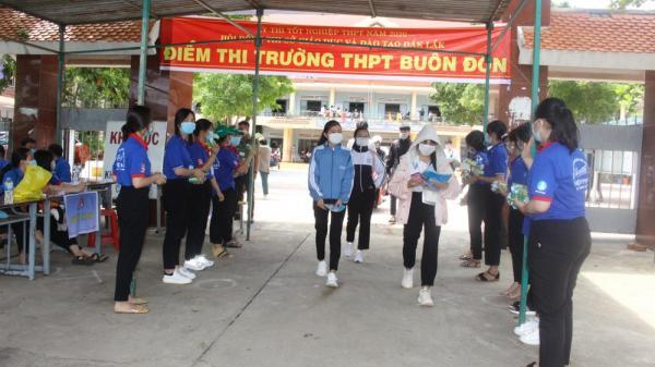 Đắk Lắk kết thúc đợt 1 kỳ thi tốt nghiệp THPT 2020 an toàn; sẵn sàng cho đợt 2