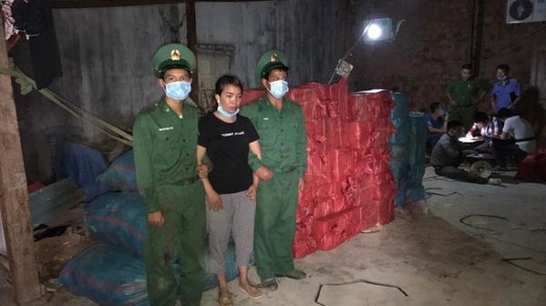Kon Tum: Xây hầm giấu pháo nổ thì bị phát hiện