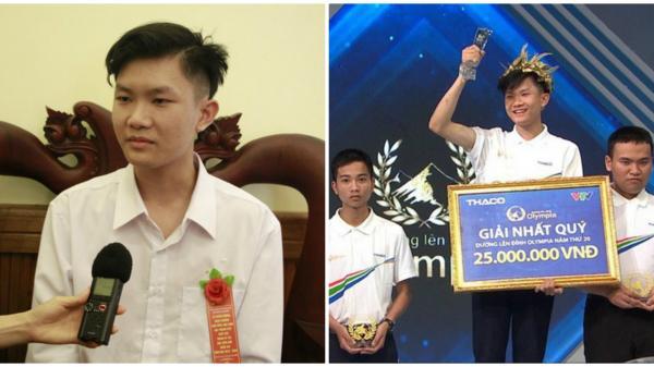 """Nam sinh Đắk Lắk vào chung kết năm Olympia: """"Em sẽ cố gắng hết khả năng!"""""""