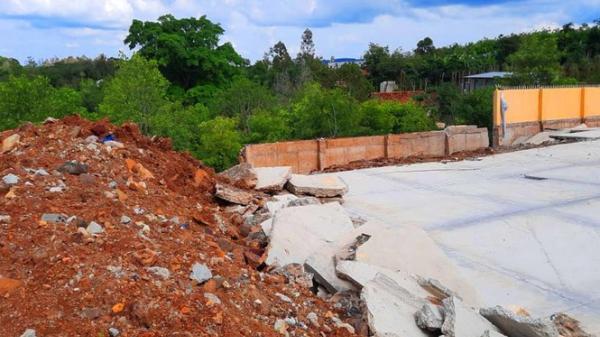 Tìm nguyên nhân công trình tiền tỷ ở Đắk Nông đổ sập sau mưa