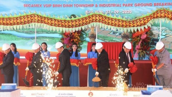 Bình Định: Khởi công dự án công nghiệp phức hợp hơn 3.000 tỷ đồng