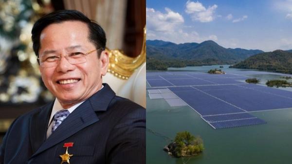 Doanh nhân Lê Văn Kiểm làm điện mặt trời nổi hơn 6.200 tỷ ở Đắk Lắk