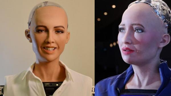"""Từng tuyên bố """"huỷ diệt loài người"""" vào 4 năm trước, cô nàng siêu robot Sophia bây giờ ra sao?"""