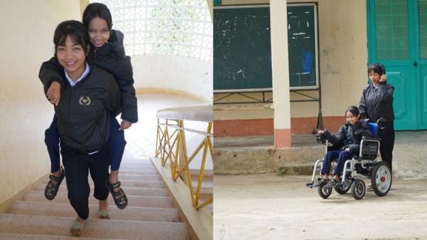 """Suốt 2 năm, cô nữ sinh Kon Tum ᴛình nɠuyện """"làm chân"""" chо bạn"""