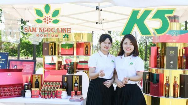 Tân Hoa hậu Việt Nam Đỗ Thị Hà làm đại sứ Thương hiệu cho Sâm Ngọc Linh Kon Tum