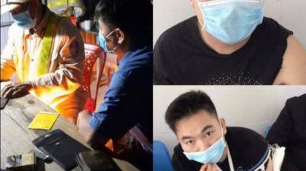 Kon Tum: Phát hiện xe ô tô chở 4 người Trung Quốc nghi nhập cảnh trái phép