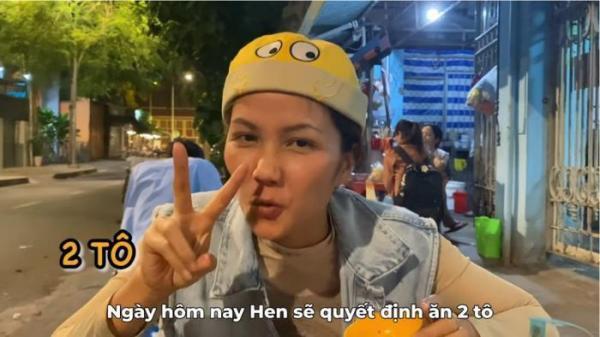 Hoa hậu quê Đắk Lắk - H'Hen Niê chén sạch 2 tô hủ tiếu gõ để đã cơn thèm!