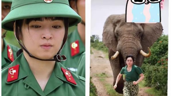 DV quê Đắk Lắk - Khánh Vân 'bánh bèo' của 'Sao nhập ngũ': Không chỉ học tốt mà còn cực giỏi thể thao, từng đoạt HCV nhưng vẫn bị mẹ dìm hàng như này