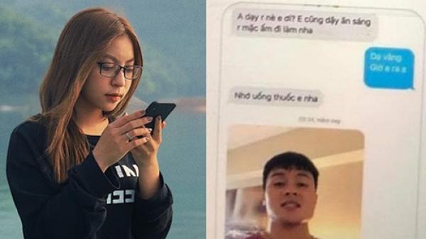 Quang Hải lộ tin nhắn mùi mẫn với tình mới khiến bạn gái cũ Nhật Lê phải suy nghĩ