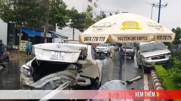 Nhân viên gara ô tô lùi xe bất cẩn gây tai nạn liên hoàn ở Tiền Giang, làm 1 người chết