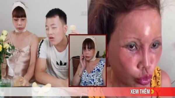 Cô dâu 62 tuổi co ro vì bị chồng trẻ mắng tới tấp, cấm không cho nói chuyện trên sóng livestream