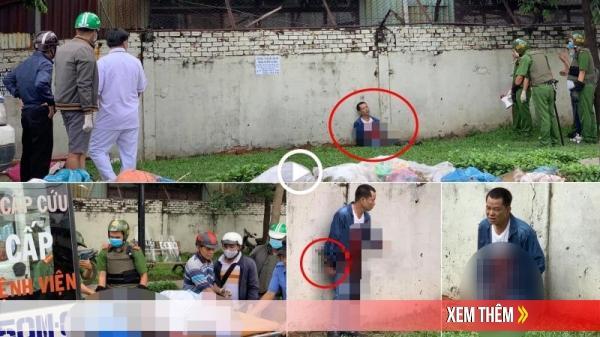 BIẾN CĂNG: Người đàn ông l.a h.ét, cầm hung khí đuổi người đi đường rồi tự đ.âm vào bụng gây thương tích ở Sài Gòn